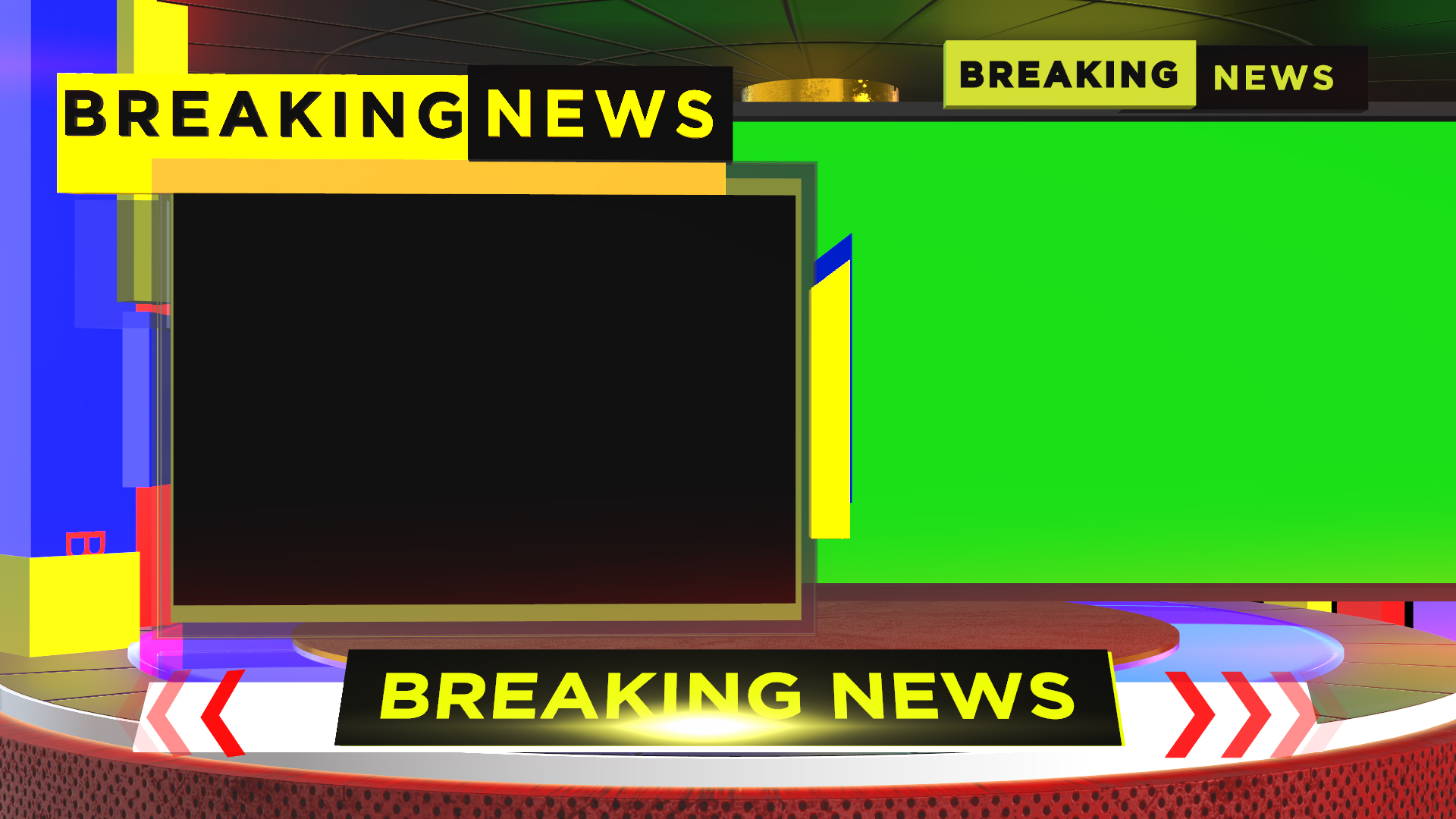 Free Breaking News Green Screen mtc tutorials