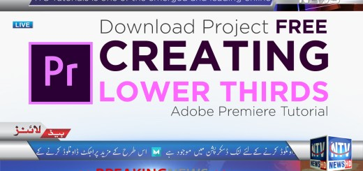 Download Adobe Premiere Lower Thirds
