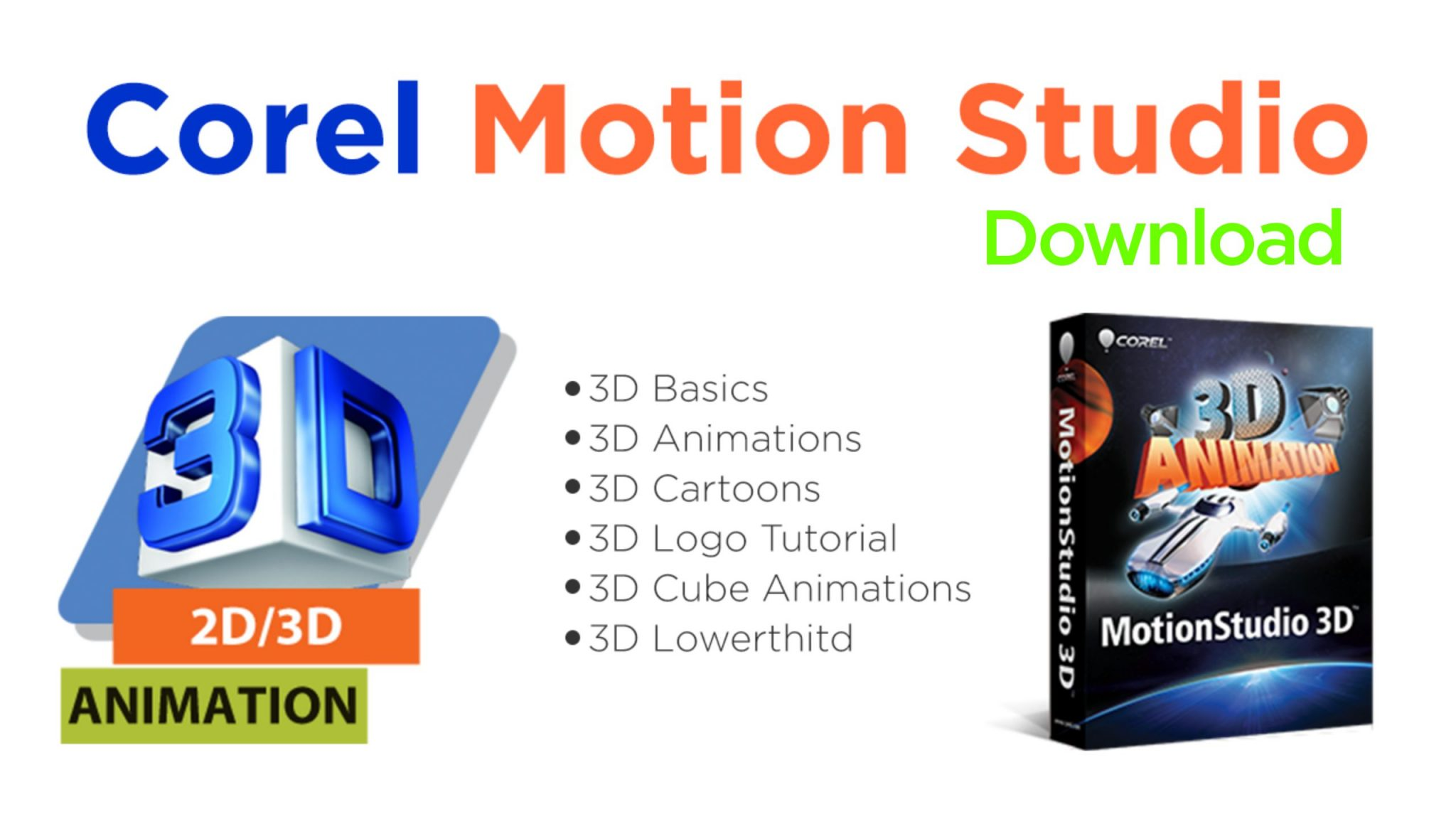 Download Corel Motion Studio