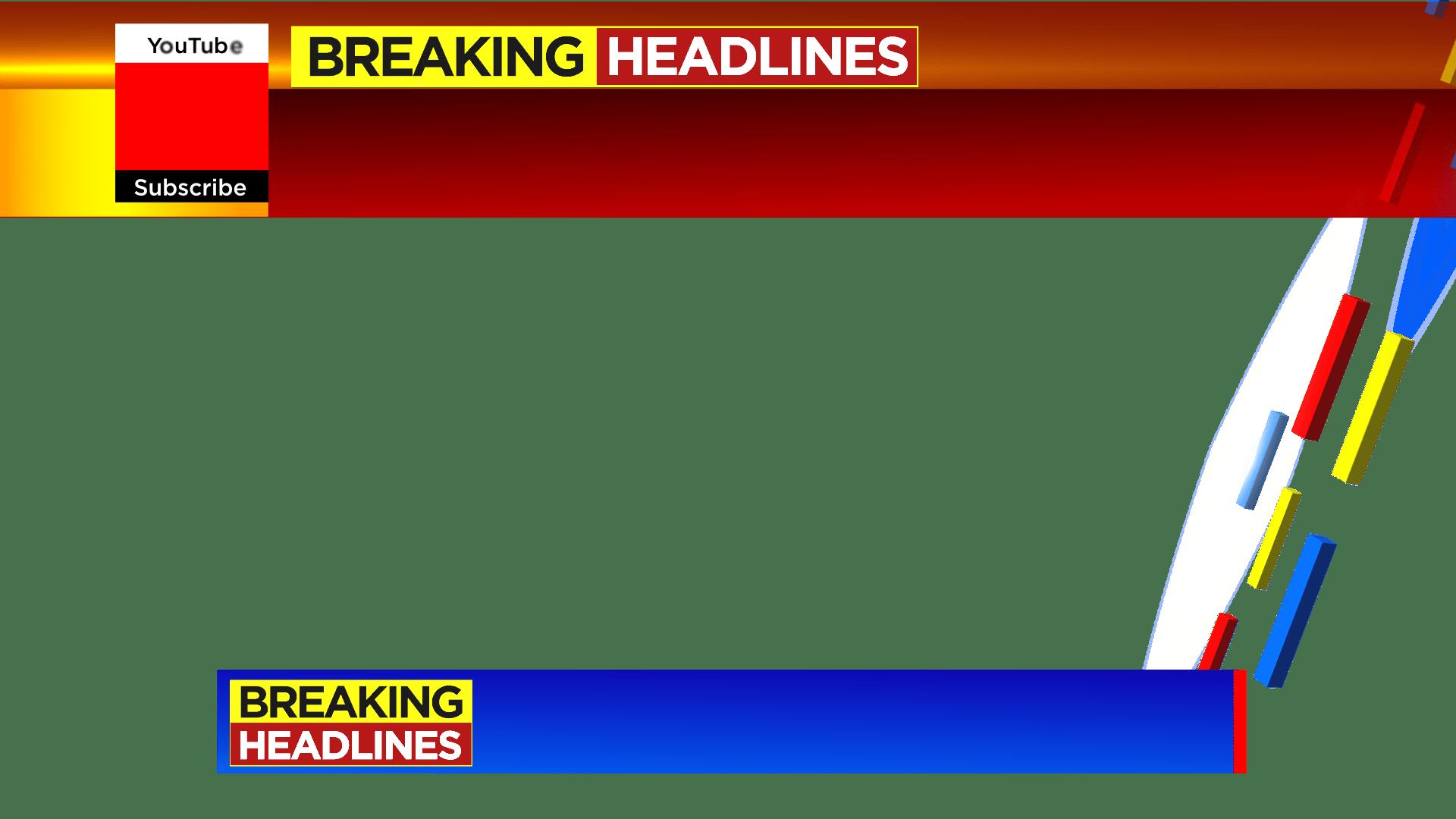 Breaking Headlines Free PNG file By MTC Tutorials