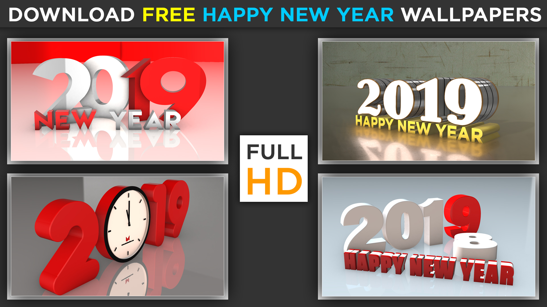 Happy New Year High Quality 3d Wallpapers And Images Download Free