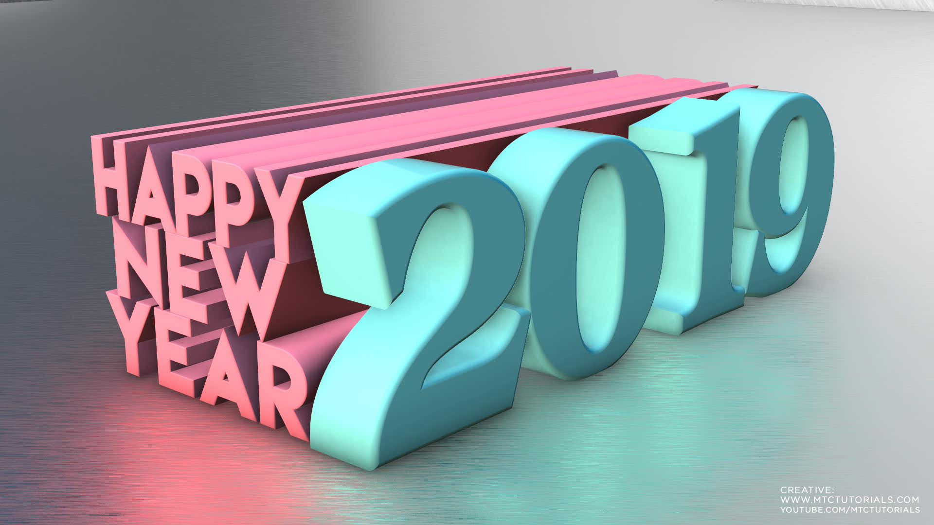 Happy New Year 3D Wallpapers free mtc tutorials