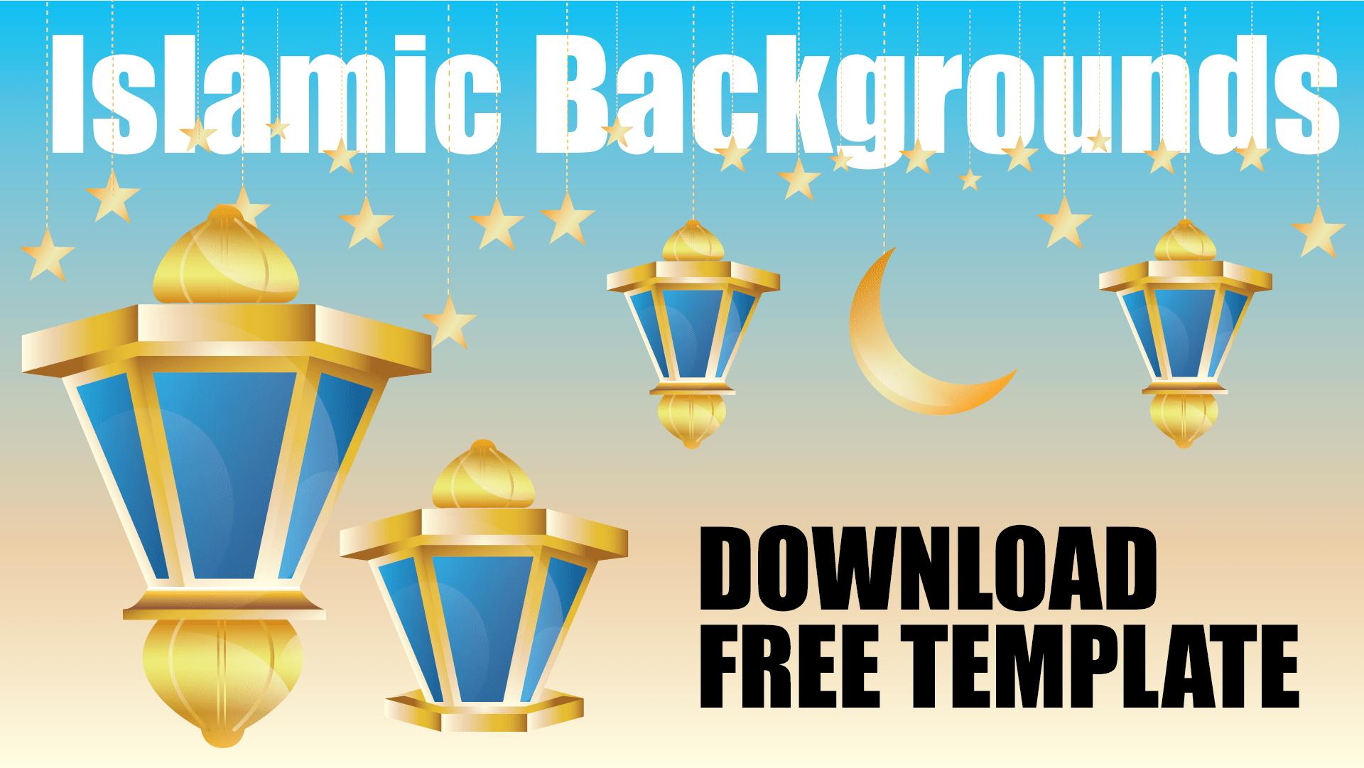 Download free islamic templates