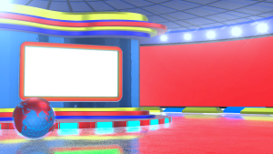 Free News Channel Studio Background png