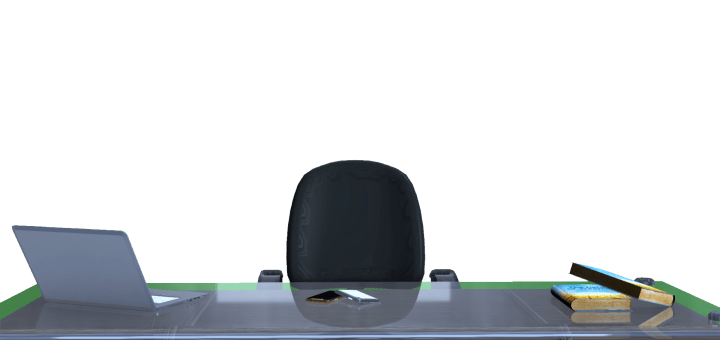News Studio Desk with chair for anchor person free png images and templates by mtc tutorials