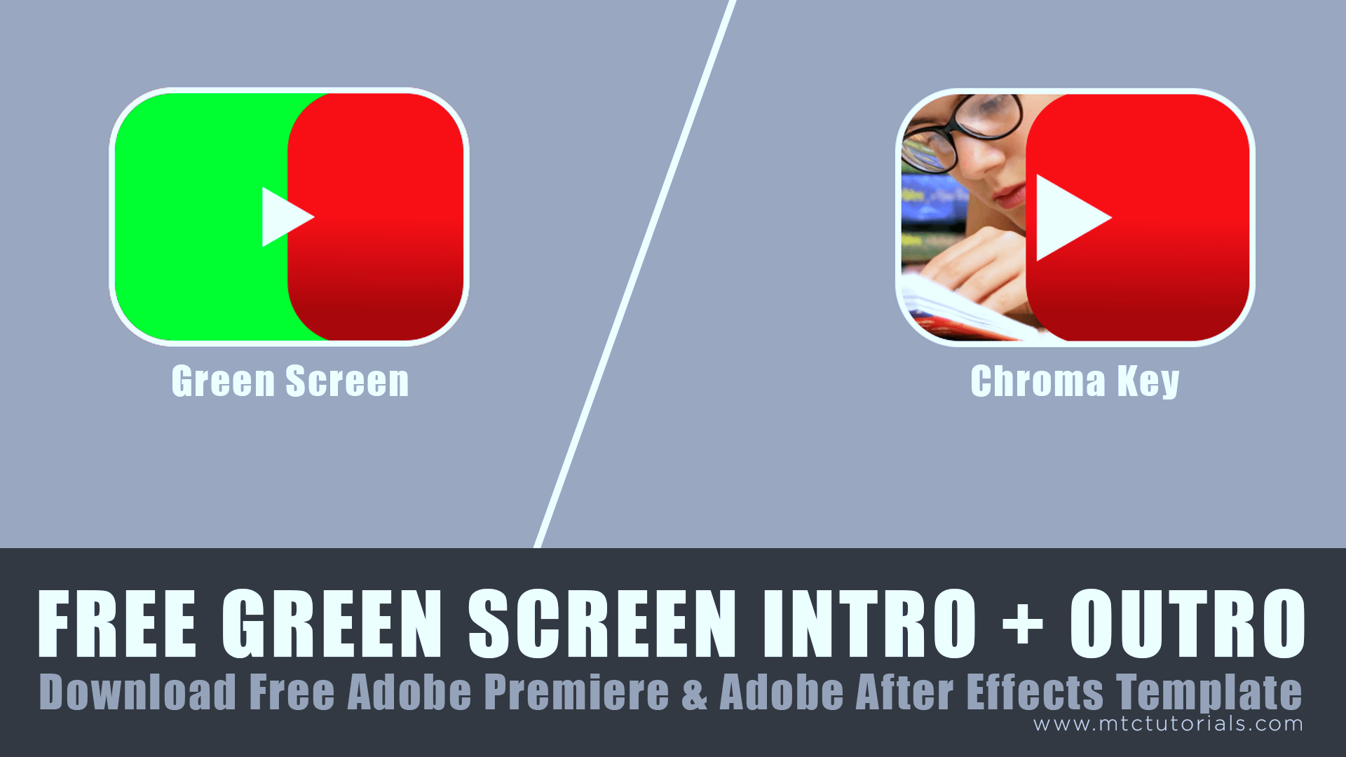 Youtube Intro Plus Outro Free Green Screen Footage, Adobe