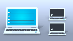 laptop display for text emply text areas by mtc tutorials