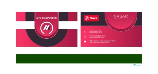 colorful business cards templates download