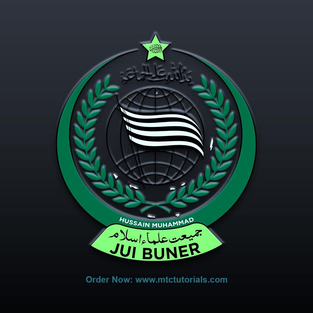 JUI logo design by mtc tutorials and mtc vfx create online logo order now