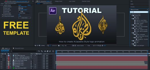How to make twisted logo in after effects , twist option in Element 3d mtc tutorials