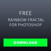 download Rainbow fractal Overlay