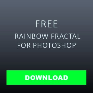 download Rainbow fractal Overlay