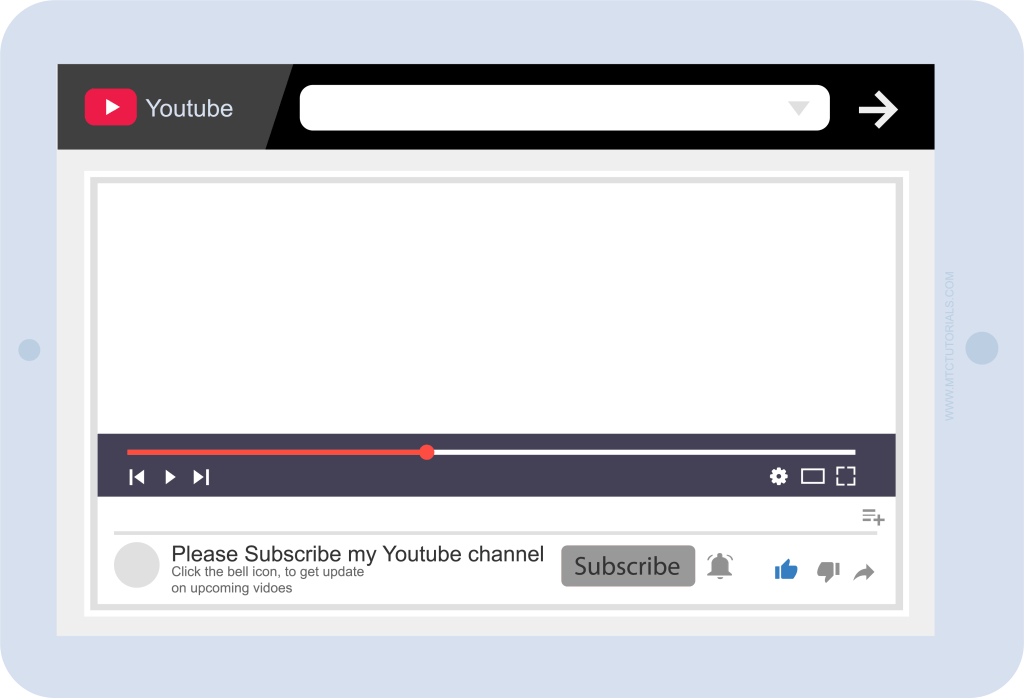 youtube player psd 2019, youtube player mockup 2019, youtube icon png, youtube player png, youtube player psd 2019, youtube mobile mockup psd, youtube video page mockup
