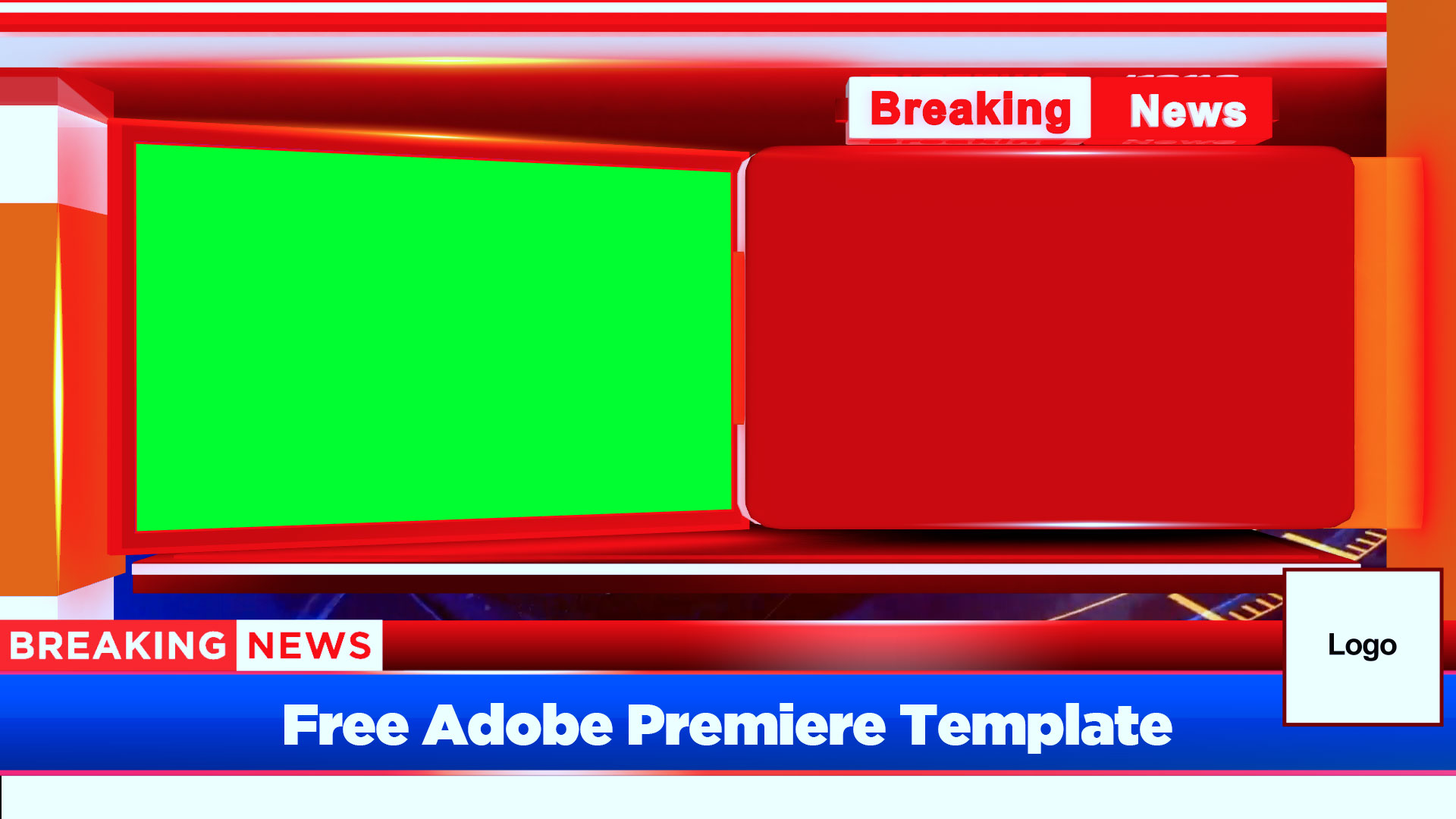 Breaking News Bumper free adobe premiere template by mtc tutorials