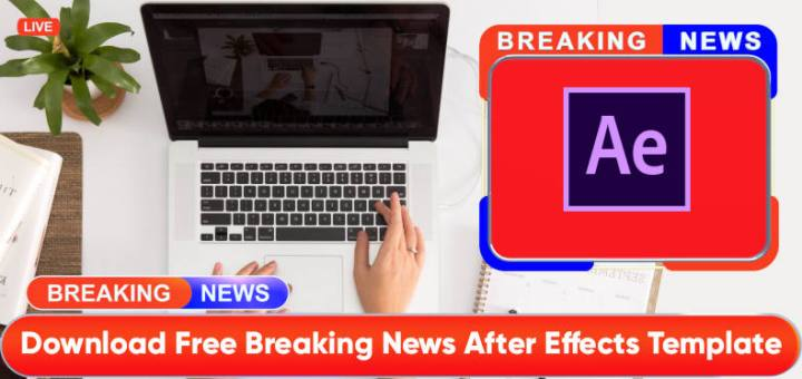 Breaking news After Effects Templates by mtc
