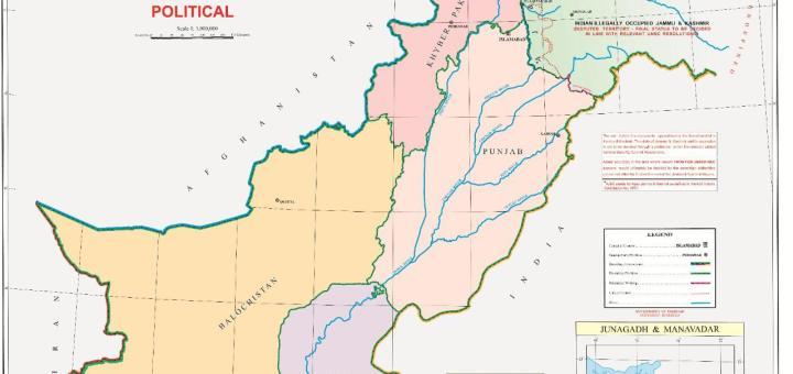Palistan new map