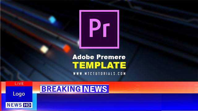 download breaking news adobe premiere template mtc tutorials