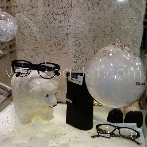 Photo boules transparentes display à garnir