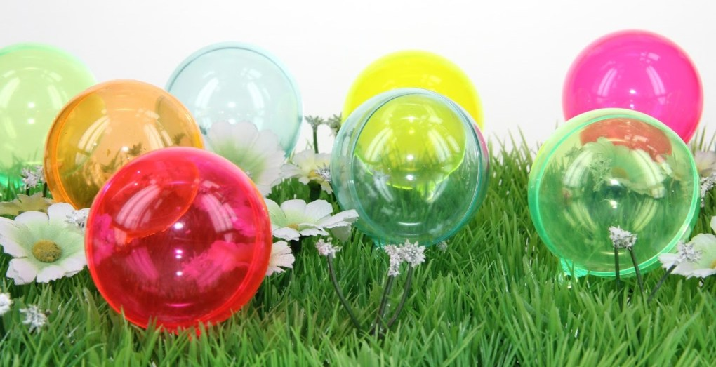 Boules teintées couleurs fluorescentes