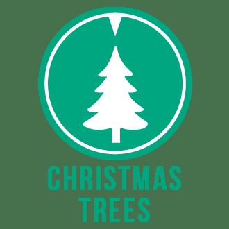 Christmas trees icon