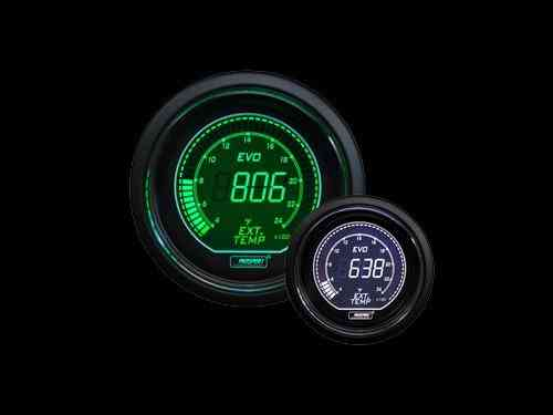 Manometro Temperatura Gas di Scarico Digitale – Prosport Serie Evo – 52mm