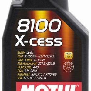 1L_8100_X-cess_5W40 motul xcess 5w40 olio motore sintetico mondotuning mtelaborazioni