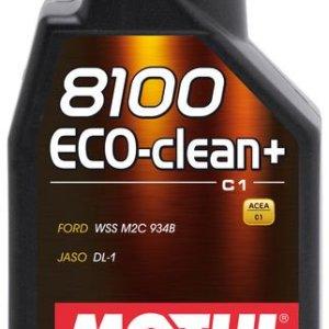 1L_8100__Eco-clean +__5W30 motul olio motore mondotuning mtelaborazioni