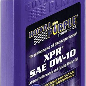 olio motore royal purple xpr 0w10 sae synerlec additivo