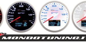 Manometro 4in1 - Press. Turbo + Voltmetro + Press. Olio + Temp. Olio - Depo Racing - 60mm
