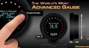 Manometro Carburazione - PLX - Touch - 52mm