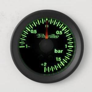 Manometro Pressione Turbo Analogico Retroilluminato - Vari Colori
