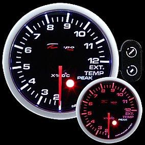 Manometro Temperatura Gas di Scarico Analogico – Depo Racing – 52mm