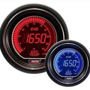 Manometro Temperatura Gas di Scarico Digitale - Prosport Serie Evo - 52mm