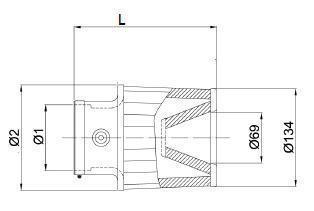 Filtro a Cono Bmc – Twin Air con Alloggiamento Sensore Bosch – Top in Metallo, Plastica o Carbonio