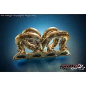 Collettore Acciaio Inox con WG Esterna - Lancer Evo VII VIII IX - GMC Racing