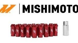 Kit 20 Lug Nuts Rossi Mishimoto con Antifurto - M12x1,25/1.5