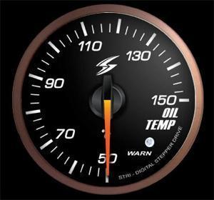 Manometro Temperatura Gas di Scarico Analogico + Allarme - Stri - 52mm