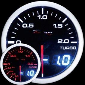 Manometro Pressione Turbo - Analogico e Digitale - Depo Racing - 52mm