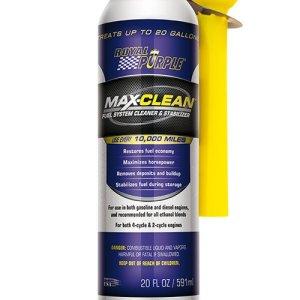 max-clean-additivo-carburante pulitore iniezione benzina iniettori royal purple renox mondotuning mtelaborazioni