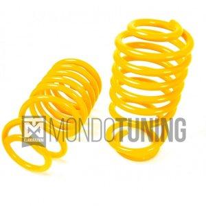 Kit Molle 28240059 500 Abarth Sport f 28240050 4 spring ribassate st suspension grande punto abarth evo mondotuning mtelaborazioni gialle