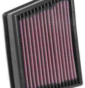 Filtro aria a pannello sportivo in cotone realizzato da K&N e specifico per Ford Fiesta ST mk8 1.5 200cv - Codice: 33-3117