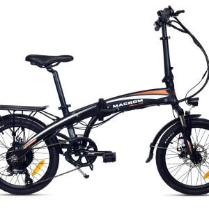 """bici e-bike ebike elettrica pieghevole foldable macrom motore 250w milano 2.0 M-EBK20MI2.0B 8053839213099 20"""" 20 pollici alluminio mtelaborazioni mondotuning micromobilità micro mobilità lecco garlate rivenditore"""