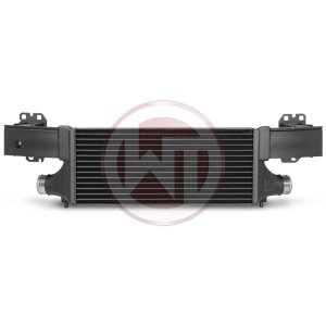 Competition Intercooler Kit EVO 2 Audi RSQ3 Audi RSQ3 8U Audi RSQ3 8U 200001082 wagner wagnertuning mondotuning mtelaborazioni Competition Intercooler kit EVO2 for Audi RSQ3 8U The high performance intercooler has the following core dimension (600mm x 260 mm x 100mm) and thus offers a 87% larger cooling surface and 70% more charge air volume compared to the original intercooler. The newly developed Competition Core granted the adjacent components