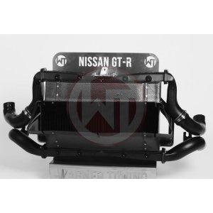 Comp. Intercooler-Kit Nissan GT-R 35 2011-2016 Nissan GT-R R35 Nissan R 35 200001106 wagner wagnertuning mondotuning mtelaborazioni COMPETITION INTERCOOLER-KIT NISSAN GT-R35Item no.: 200001055  200001106The competition intercooler for Nissan GT-R has the following core size 2x (360mm x 294mm x 110mm)= 23