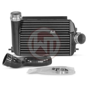 Comp. Intercooler Kit Renault Megane 4RS Renault Megane 4 RS Renault Megane 4 RS 200001145 wagner wagnertuning mondotuning mtelaborazioni COMPETITION INTERCOOLER KIT Renault Megane 4 R.S. (Trophy)The WAGNERTUNING high-performance intercooler has got a new competition core (Tube Fin) with the dimensions 315 mm x 227 [142] mm x 165 [150] mm [stepped] / 12