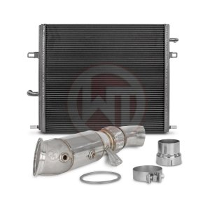 Competition Package BMW F-serie B58 Engine without OPF BMW BMW 4er BMW 4er F36 700001069 wagner wagnertuning mondotuning mtelaborazioni The Competition Package for the BMW F-series B58 engine consists the Radiator Upgrade Kit
