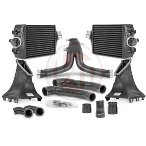 Comp. Package Porsche 991 Turbo(S) Intercooler Kit / Y-charge pipe Porsche Porsche 991 Porsche 991 Turbo 700001099.991.1 wagner wagnertuning mondotuning mtelaborazioni The competition package for the Porsche 991 consists the Intercooler Upgrade Kit and the Y-Charge Pipe kit. It¶ïs suitable for the following vehicles.Porsche 991.1 911Turbo 383KW/520PSPorsche 991.1 911Turbo S 412KW/560PSPorsche 991.2 911Turbo 397KW/540PSPorsche 991.2 911Turbo S 427KW/580PSPorsche 991.2 911Turbo S Exclusive 446KW/607PSthe intercooler upgrade kit 200001099The Wagner Tuning Porsche 991 911 Turbo (S) Intercooler Kit has the following core size (2 x [320mm x 238mm x 110mm] = 16