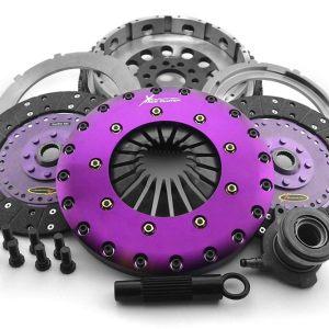 KFD23659-2G extreme clutch, xtreme clutch frizione rinforzata ford focus rs mk3 bidisco bi disco doppio twin clutch volano monomassa frizione organica carbonio mtelaborazioni airtec
