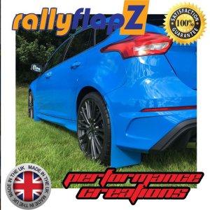 RFFRSMK3 rally flaps rallyflapz mud flaps paraspruzzi ford focus rs st mk3 airtec estetica