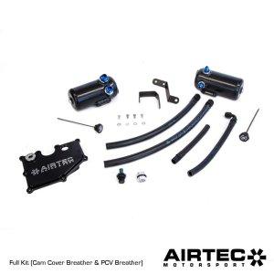 ATMSFO111 top cam cover breather pcv decanter sfiato vapori olio oil airtec ford focus rs mk3 2.3 serbatoio mtelaborazioni